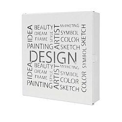 Box Na Kľúče Design Biela