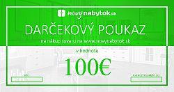 Darčekový poukaz v hodnote 100€