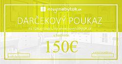 Darčekový poukaz v hodnote 150€