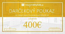 Darčekový poukaz v hodnote 400€