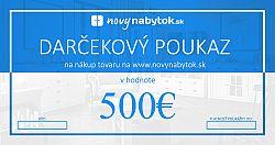 Darčekový poukaz v hodnote 500€