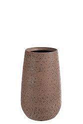 Dekoračná váza Extravaganza (22x22x40cm) (Hnedá)