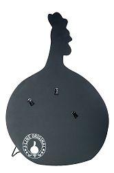 Dekoratívny predmet Tabuľa / Pútač (65x30x86cm) (Čierna)