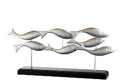 Figurína Zvieratko (64x9x29cm) (Strieborná)