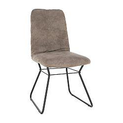 Jedálenská stolička Almira (sivá)