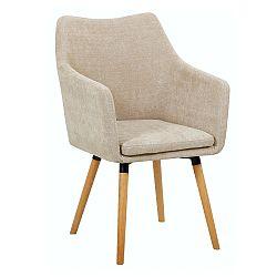 Jedálenská stolička Dabir (béžová)