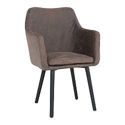 Jedálenská stolička Dabir (hnedosivá)