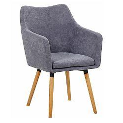 Jedálenská stolička Dabir (sivá)