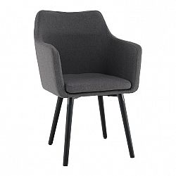Jedálenská stolička Dabir (sivohnedá)
