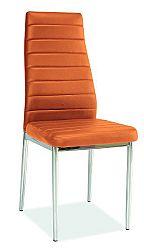 Jedálenská stolička H-261 (oranžová)