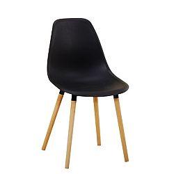 Jedálenská stolička Kalisa (čierna)
