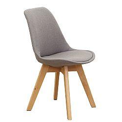 Jedálenská stolička Lorita (sivohnedá)