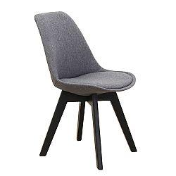 Jedálenská stolička Lorita (tmavosivá)