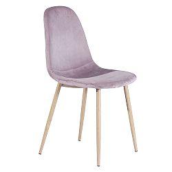 Jedálenská stolička Makaria (ružová)
