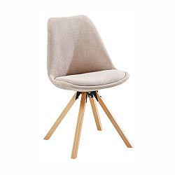 Jedálenská stolička Sabra (béžová)