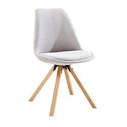 Jedálenská stolička Sabra (sivá)