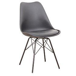 Jedálenská stolička Tamora (čierna)