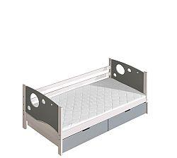 Jednolôžková posteľ 80 cm Kolin (s roštom a úl. priestorom)