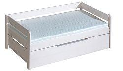 Jednolôžková posteľ 90 cm Balos (s roštom a úl. priestorom)