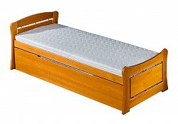 Jednolôžková posteľ 90 cm Pauli 1 (s roštom a úl. priestorom)