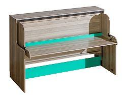Jednolôžková posteľ 90 cm Ulmo U16 (s roštovou doskou)