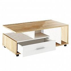 Konferenčný stolík Dechen (dub sonoma)