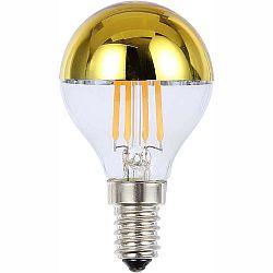 LED žiarovka Led bulb 10505 (strieborná metalíza + priehľadná)