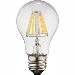 LED žiarovka Led bulb 10582 (nikel + priehľadná)
