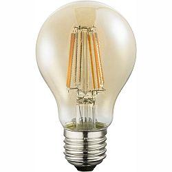 LED žiarovka Led bulb 10582A (nikel + jantár)