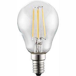 LED žiarovka Led bulb 10585 (nikel + priehľadná)