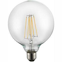 LED žiarovka Led bulb 10586 (nikel + priehľadná)