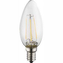 LED žiarovka Led bulb 10588-2 (nikel + priehľadná)