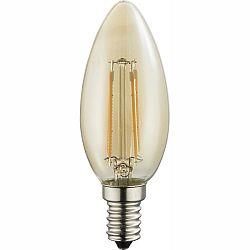 LED žiarovka Led bulb 10588A (nikel + jantár)