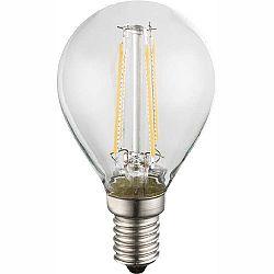 LED žiarovka Led bulb 10589-2 (nikel + priehľadná)
