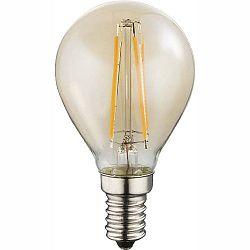 LED žiarovka Led bulb 10589A (nikel + jantár)
