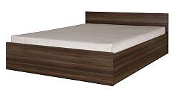 Manželská posteľ 160 cm Irvine I21 (jaseň tmavý) (s roštom a úložným priestorom)