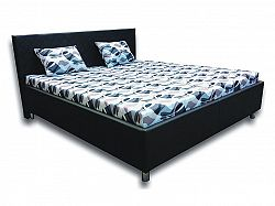 Manželská posteľ 160 cm Leona 2 (s penovými matracmi)