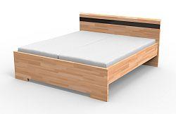 Manželská posteľ 160 cm Mona (masív)
