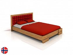 Manželská posteľ 160 cm Naturlig Storhamar (buk) (s roštom)