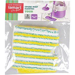 Náhradný mop Fastplus Lamart Tour (biela/zelená)