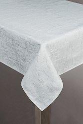 Obrus 140X180 cm Blink (biela + strieborná) (1 ks)