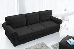 Pohovka trojsedačka Bremo (čierna)