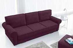 Pohovka trojsedačka Bremo (fialová)