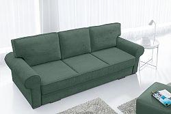 Pohovka trojsedačka Bremo (zelená)