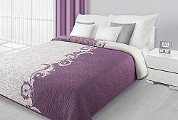 Prehoz na posteľ 210x170cm Aisha (fialová)
