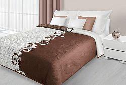 Prehoz na posteľ 210x170cm Aisha (hnedá)