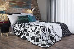 Prehoz na posteľ 210x170cm Elle (čierna)
