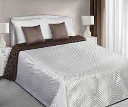 Prehoz na posteľ 240x220cm Ada (krémová)