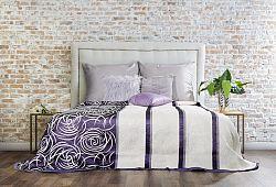 Prehoz na posteľ 260x240cm Sue (fialová)