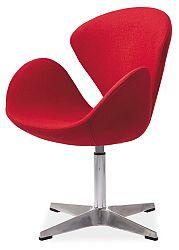 Relaxačné kreslo Devon (červená)